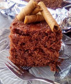 Κέικ σοκολάτας νηστίσιμο !!! ~ ΜΑΓΕΙΡΙΚΗ ΚΑΙ ΣΥΝΤΑΓΕΣ 2 Brownie Cake, Brownies, Tiramisu, Banana Bread, Toast, Cooking Recipes, Breakfast, Ethnic Recipes, Desserts