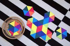 Hexagonspiel zum Ausdrucken