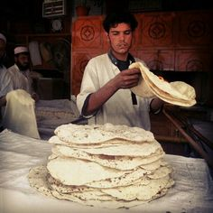 Fresh Iranian bread - best bread I've ever tasted