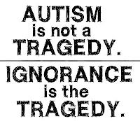 """April is """"Autism Awareness Month""""  Take some time to educate yourself!"""