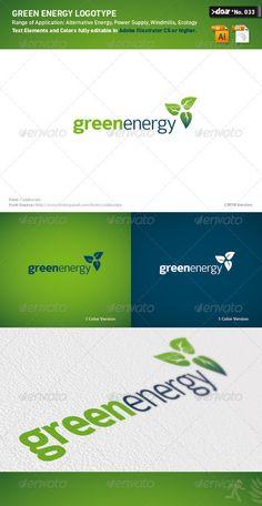 DOA Green Energy Logo Template #graphicriver