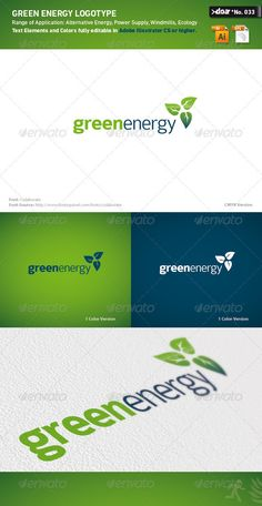 DOA Green Energy Logo Template #graphicriver