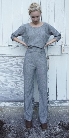 Makers Pantsuit in organic cotton. New A/W 16