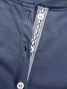 lace to button placket                                                                                                                                                                                 More