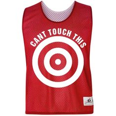 Can't Touch This Lacrosse Pinnie - FunnyShirts.org.