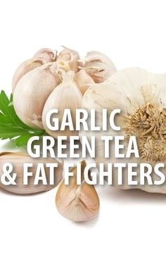 Dr. Oz shared a remedy for flushing away fat by mixing a clove of garlic with a cup of green tea. http://www.recapo.com/dr-oz/dr-oz-weight-loss/dr-oz-garlic-green-tea-litramine-vitamin-c-vinegar-flush-fat/