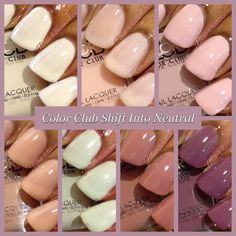 @colorclubpolish Shift Into Neutral collection