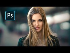 Photoshop Tutorial, Modeling, Touch, Portrait, Face, Youtube, Modeling Photography, Headshot Photography, Portrait Paintings