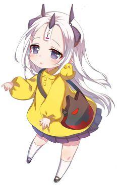 All the lolis Dibujos Anime Chibi, Cute Anime Chibi, Anime Girl Cute, Kawaii Anime Girl, Art Anime, Anime Art Girl, Anime Manga, Loli Kawaii, Kawaii Chibi