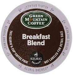 Keurig, Green Mountain Coffee, Breakfast Blend, K-Cup packs, 72 Count | shopswell