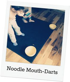 Encouraging creative play and imagination - nine noodle games