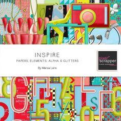 Inspire Bundle by Marisa Lerin   Pixel Scrapper digital scrapbooking