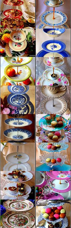 Bespoke and unique tiered cake stands for any occasion to celebrate and bring that eye-catching accessories to your tea party, impress your friends and family by making a strong style statement, while having your guests around. Browse entire cake stand selection at Posh&Seductive Etsy boutique store at Handmade cake stand section: https://www.etsy.com/shop/PoshandSeductive?section_id=17139573&ref=shopsection_leftnav_3 #cakestand #Victorian #teaparty #bonechina #hightea #Christmasdecor