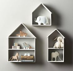 Petite House Shelves from RH Baby & Child