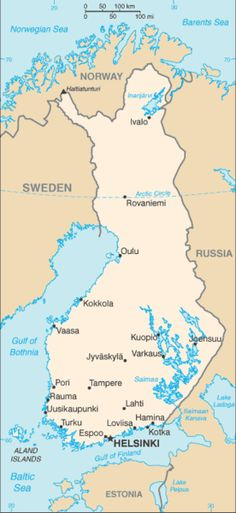 #genetics Not So Close Neighbors: The Genetically Isolated People of Finland./The ancestors of the modern Finns, once they arrived in this cold land thousands of years ago, remained relatively separate from even their closest European neighbors. Although modern travel and telecommunications have likely reduced this isolation, still evident in the genetics. #genetics Read more at