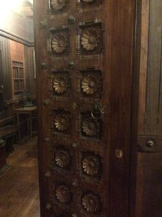 Beautiful door, Folklore Museum, Cochin