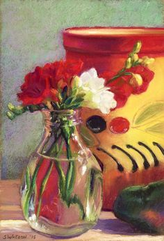 Hey, I found this really awesome Etsy listing at https://www.etsy.com/il-en/listing/248641522/yellow-and-red-still-life-original