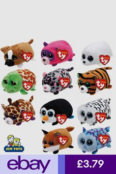 16aaba6ec76 Teeny TY Beanie Mini Plush Stackable Teddy New with Tags Full Soft Toy Range
