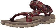 Teva Men's Hurricane Xlt M's Hiking Sandals, Red (Peaks Fired Brick), 10 UK 44.5 EU    klassische Outdoor-Sandale  Shoc PadTM im Fersenberei...