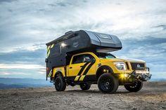 Nissan Titan Truck Camper for SEMA