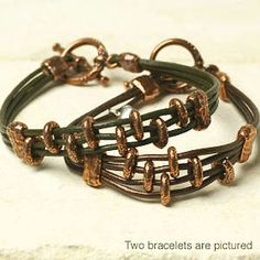 DIY Tahoe Bracelet-Antique Copper