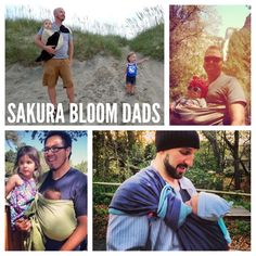 This is my favorite because it shows that dads can and SHOULD baby wear too! <3 @Sakura . bloom