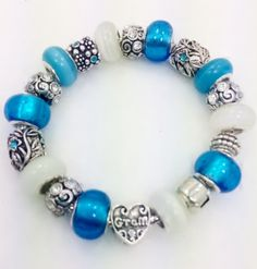 A personal favorite from my Etsy shop https://www.etsy.com/listing/205747545/gram-european-style-charm-bracelet