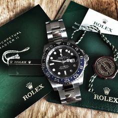 Rolex GMT Master II - 116710 BLNR
