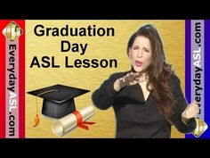 """Sign Language Vocabulary video lessons from """"Everyday ASL Productions"""" youtube channel.  (some videos are matched with tv clips from Switched at Birth, which are not kid friendly)"""