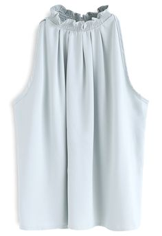 Everlasting Concinnity Sleeveless Top in Mint - Retro, Indie and Unique Fashion