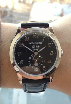 Patek Philippe 5963g limited edition for Patek Salon at Tiffany and Co. in NYC
