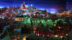 Pepperkakebyen - Gingerbread Bergen City!!!