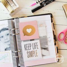 Heidi Swapp Memory Planner Pages @createofte @heidiswapp #heidiswapp…
