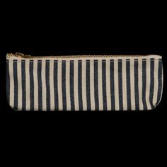 UNIONMADE - Stanley & Sons - Pencil Zip Pouch in Hickory Stripe