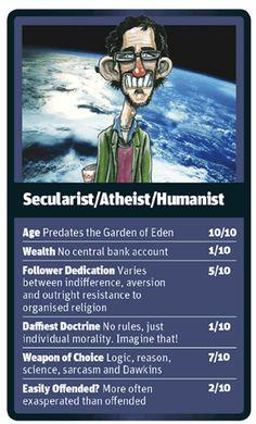 God Trumps Atheist card