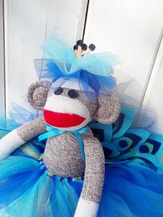 """I have a small business of sock monkey dolls and am nearing 1000 sock monkeys; all made of the original Rockford Redheel Socks."""