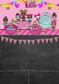 kit festa lol surprise para imprimir 5th Birthday Party Ideas, 7th Birthday, Birthday Parties, Doll Party, Lol Dolls, Slumber Parties, Birthday Invitations, Party Time, Party Printables
