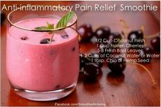 Anti-inflammatory Pain Relief Smoothie