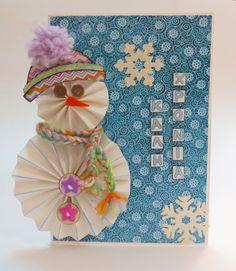 Χριστουγεννιάτικη κάρτα - DIY Christmas card  Σαμαρτζή - Βιβλιοπωλείο - Hobby - Καλλιτεχνικά: ΙΔΕΕΣ ΓΙΑ ΧΕΙΡΟΤΕΧΝΙΕΣ - ΧΑΛΚΙΔΑ