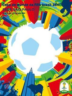 Poster So Paulo - FIFA 2014