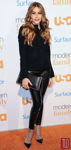 "Sofia Vergara at the ""Modern Family"" Fan Appreciation Day Event | Tom & Lorenzo"