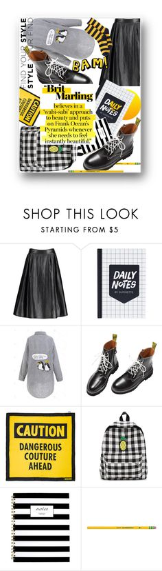 """""""Casual cruisin' in the city,not to see my outfit it would be a pity ⚠️"""" by jelena-bozovic-1 ❤ liked on Polyvore featuring Moschino and HOT SOX"""