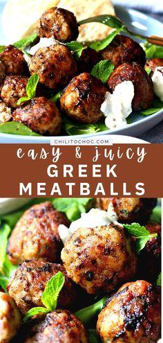 Lamb Recipes, Greek Recipes, Cooking Recipes, Healthy Recipes, Healthy Lunches, Skinny Recipes, Greek Appetizers, Appetizer Recipes, Dinner Recipes