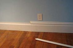 Use Multiple Mouldings to Spruce Up Your Baseboards