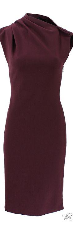 Like the neckline and asymmetry. Drape Neck Dress
