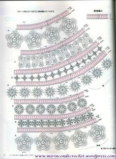 Fabulous Crochet a Little Black Crochet Dress Ideas. Georgeous Crochet a Little Black Crochet Dress Ideas. Crochet Diagram, Freeform Crochet, Crochet Chart, Irish Crochet, Crochet Motif, Crochet Designs, Crochet Flowers, Crochet Lace, Crochet Stitches