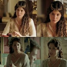 """Magnificent Heritage- Fatma usually """"steales"""" dresses from Hürrem. But this one is taken from her sister"""