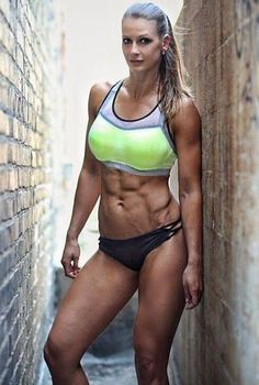 Get Ripped Abs And Control Your Bodys Acid Levels - body building concept Ripped Girls, Girls With Abs, Gym Girls, Yoga Fitness, Fitness Tips, Fitness Models, Fitness Women, Female Fitness, Ripped Fitness