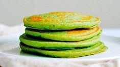 Pancakes veganos de aguacate