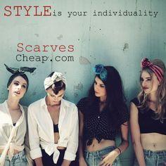 Head scarves  http://www.scarvescheap.com/www/cz/shop/head-scarves/